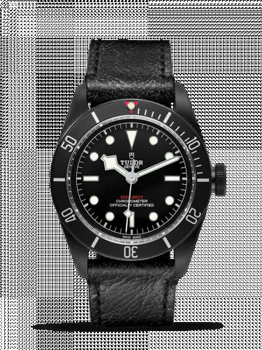 Tudor 79230DK-0007 : Heritage Black Bay Black Dark / Strap