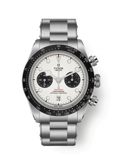 Tudor 79360N-0002 : Heritage Black Bay Chronograph Panda / Bracelet