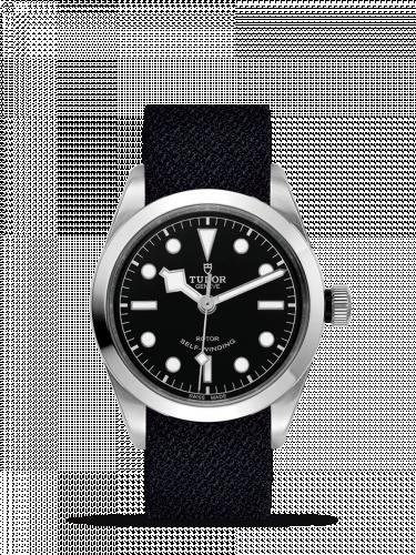 Tudor 79500-0010 : Heritage Black Bay 36 Stainless Steel / Black / Fabric