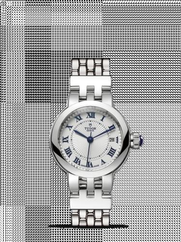 35200-0001 : Tudor Clair de Rose 26 Stainless Steel / Silver-Roman/ Bracelet