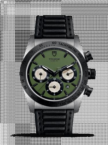 Tudor 42010N-0004 : Fastrider Chrono Green / Leather