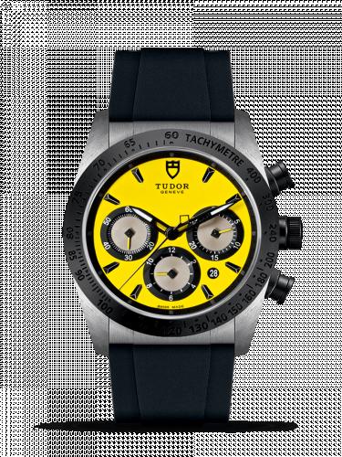 Tudor 42010N-0007 : Fastrider Chrono Yellow / Rubber