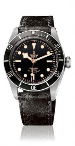 Tudor 79220N-0002 : Heritage Black Bay Black / Strap