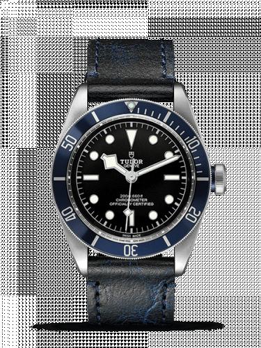 Tudor 79230b-0002 : Heritage Black Bay Blue Manufacture / Strap