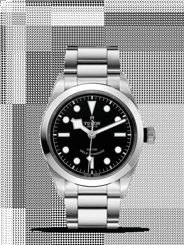 Tudor 79500-0001 : Heritage Black Bay 36 Stainless Steel / Black / Bracelet
