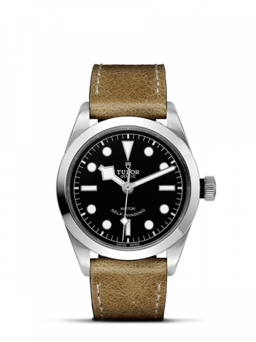 Tudor 79500-0002 : Heritage Black Bay 36 Stainless Steel / Black / Strap