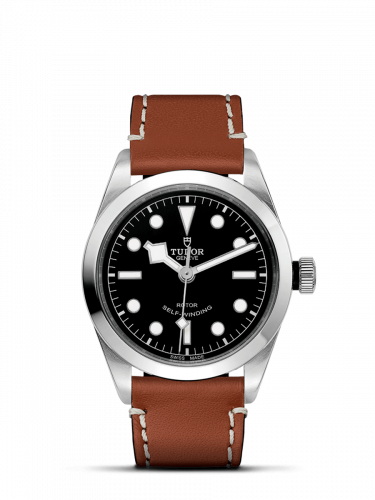 Tudor 79500-0009 : Heritage Black Bay 36 Stainless Steel / Black / Strap