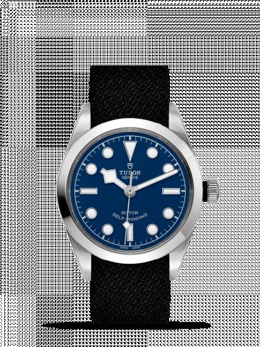 Tudor 79500-0011 : Heritage Black Bay 36 Stainless Steel / Blue / Fabric