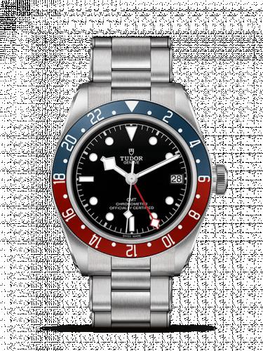 79830RB-0001 : Tudor Heritage Black Bay GMT Stainless Steel / Black / Pepsi / Bracelet