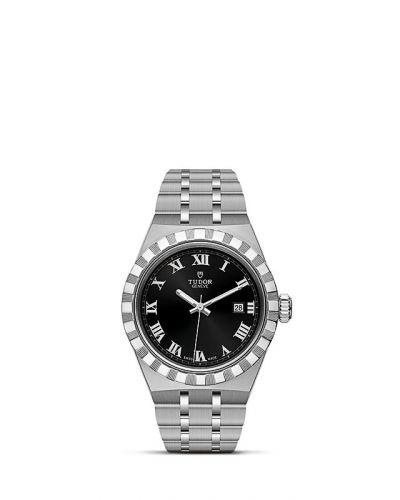 Tudor M28300-0003 : Royal Date 28 Stainless Steel / Black - Roman