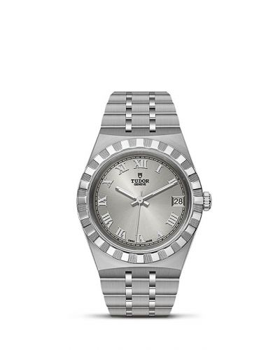 Tudor M28400-0001 : Royal Date 34 Stainless Steel / Silver - Roman