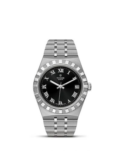 Tudor M28400-0003 : Royal Date 34 Stainless Steel / Black - Roman