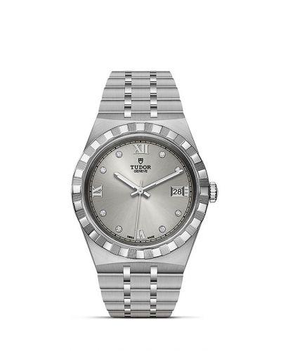 Tudor M28500-0002 : Royal Date 38 Stainless Steel / Silver - Diamond