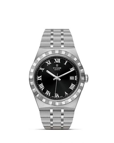 Tudor M28500-0003 : Royal Date 38 Stainless Steel / Black - Roman
