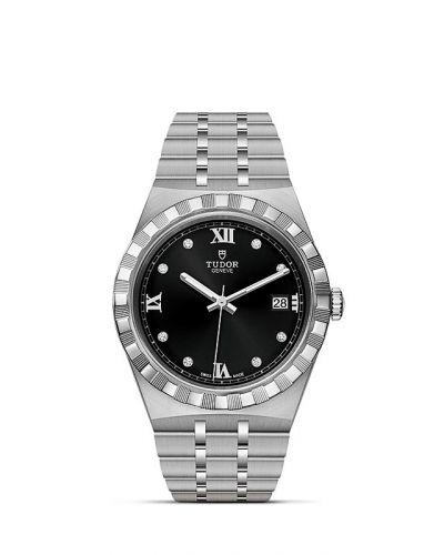 Tudor M28500-0004 : Royal Date 38 Stainless Steel / Black - Diamond