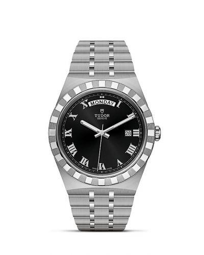 Tudor M28600-0003 : Royal Day-Date 41 Stainless Steel / Black - Roman