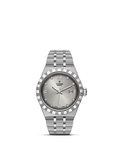 Tudor M28300-0002 : Royal Date 28 Stainless Steel / Silver - Diamond