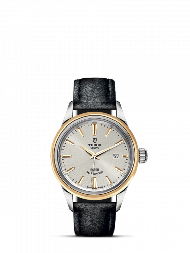 Tudor M12103-0008 : Style 28 Stainless Steel / Yellow Gold / Silver / Strap