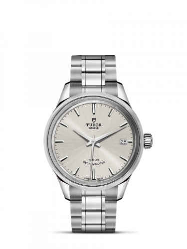 Tudor M12300-0001 : Style 34 Stainless Steel / Silver / Bracelet