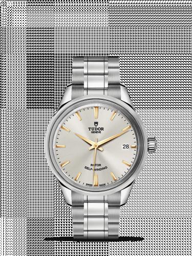 Tudor M12300-0017 : Style 34 Stainless Steel / Silver / Bracelet