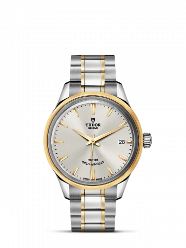 Tudor M12303-0002 : Style 34 Stainless Steel / Yellow Gold / Silver / Bracelet