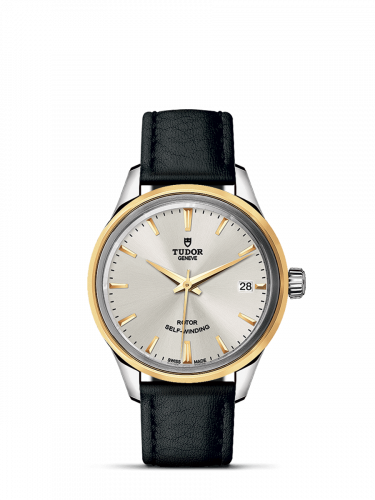 Tudor M12303-0008 : Style 34 Stainless Steel / Yellow Gold / Silver / Strap