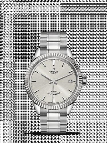 Tudor M12310-0001 : Style 34 Stainless Steel / Fluted / Silver / Bracelet
