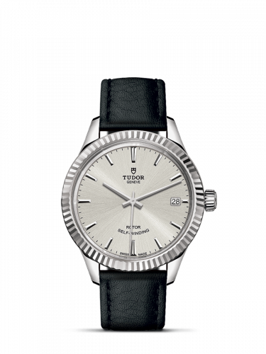 Tudor M12310-0021 : Style 34 Stainless Steel / Fluted / Silver / Strap