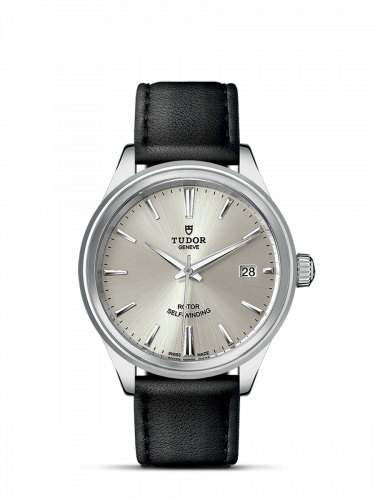Tudor M12500-0005 : Style 38 Stainless Steel / Silver / Strap