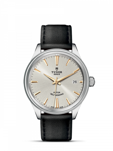 Tudor M12500-0018 : Style 38 Stainless Steel / Silver / Strap