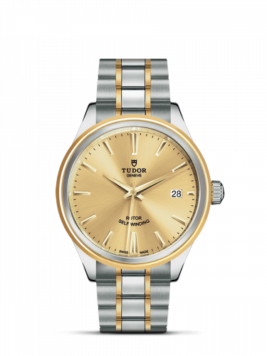 Tudor M12503-0001 : Style 38 Stainless Steel / Yellow Gold / Champagne / Bracelet