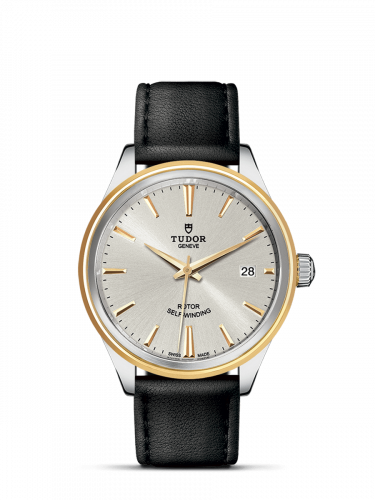 Tudor M12503-0008 : Style 38 Stainless Steel / Yellow Gold / Silver / Strap