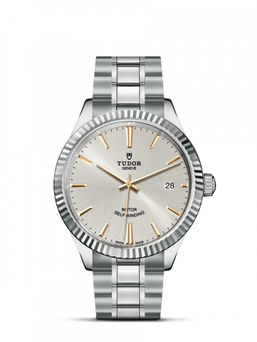 Tudor M12510-0005 : Style 38 Stainless Steel / Fluted / Silver / Bracelet