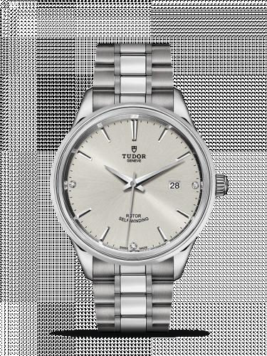 Tudor M12700-0003 : Style 41 Stainless Steel / Silver-Diamond / Bracelet