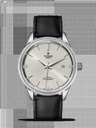 Tudor M12700-0007 : Style 41 Stainless Steel / Silver-Diamond / Strap