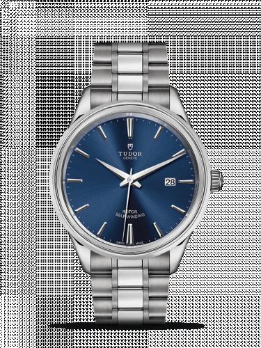 Tudor M12700-0009 : Style 41 Stainless Steel / Blue / Bracelet