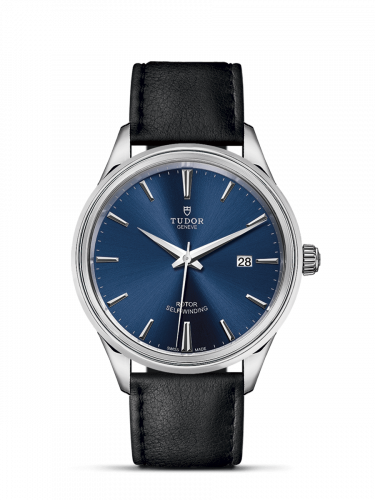Tudor M12700-0010 : Style 41 Stainless Steel / Blue / Strap