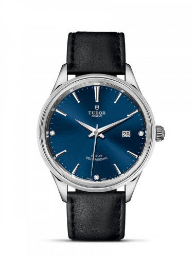 Tudor M12700-0014 : Style 41 Stainless Steel / Blue-Diamond / Strap