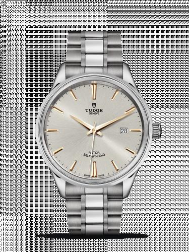 Tudor M12700-0017 : Style 41 Stainless Steel / Silver / Bracelet