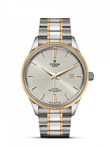 Tudor M12703-0002 : Style 41 Stainless Steel / Yellow Gold / Silver / Bracelet