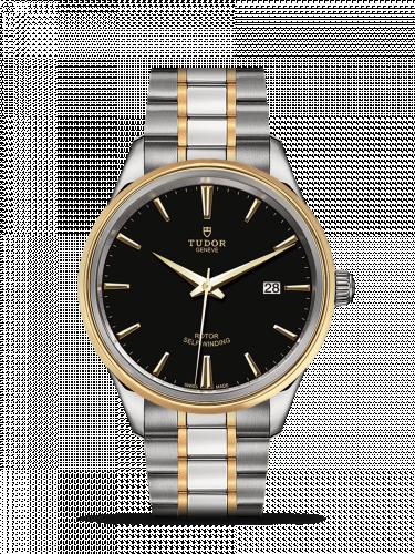 Tudor M12703-0003 : Style 41 Stainless Steel / Yellow Gold / Black / Bracelet