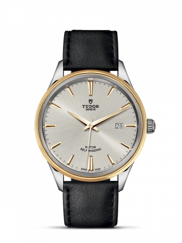 Tudor M12703-0008 : Style 41 Stainless Steel / Yellow Gold / Silver / Strap