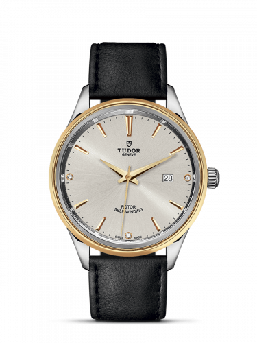 Tudor M12703-0011 : Style 41 Stainless Steel / Yellow Gold / Silver-Diamond / Strap