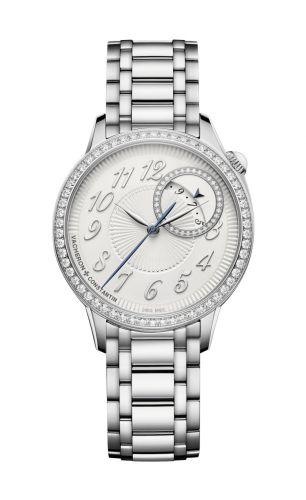 Vacheron Constantin 4605F/110A-B495 : Égérie Self-Winding 35 Stainless Steel / Diamond / Silver / Bracelet