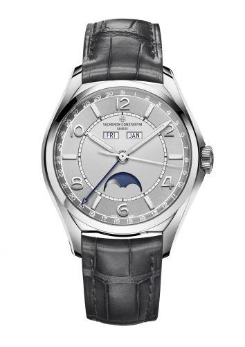Vacheron Constantin 4000E/000A-B439 : FiftySix Complete Calendar Stainless Steel / Silver