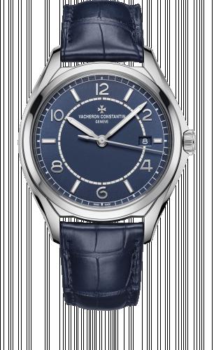 Vacheron Constantin 4600E/000A-B487 : FiftySix Self-Winding Stainless Steel / Blue