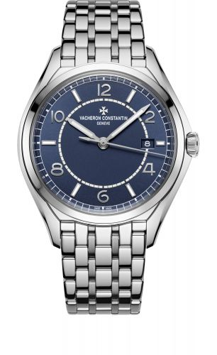 Vacheron Constantin 4600E/110A-B487 : FiftySix Self-Winding Stainless Steel / Blue / Bracelet