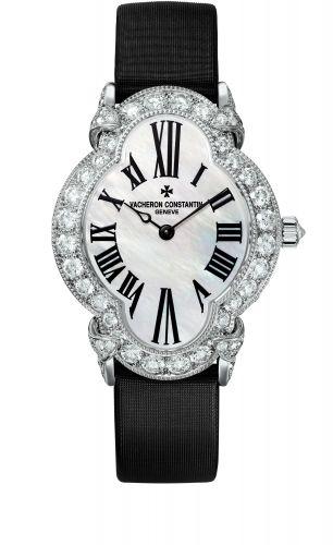 Vacheron Constantin 37640/000G-B030 : Heures Créatives Romantique White Gold / Diamond / MOP