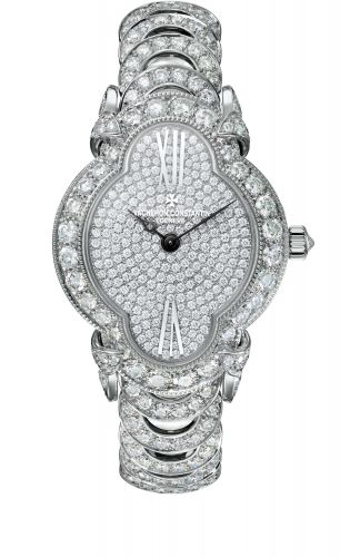 Vacheron Constantin 37640/F02G-B021 : Heures Créatives Romantique White Gold / Diamond / Diamond / Bracelet