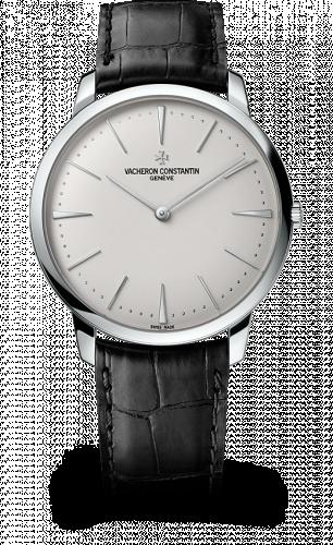 81180/000G-9117 : Vacheron Constantin Patrimony Contemporaine 40 Manual-Winding White Gold / Silver